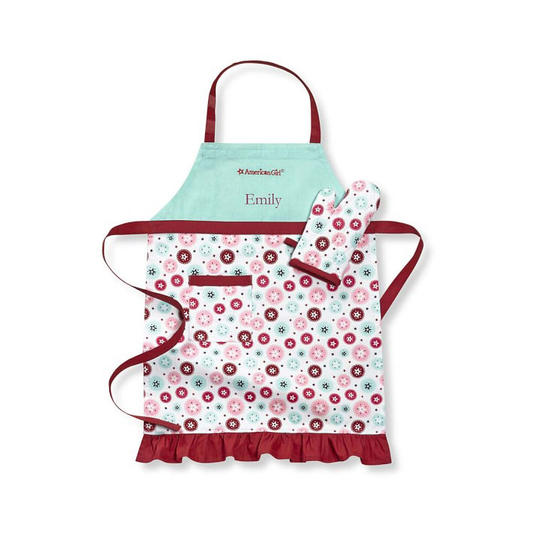 Monogrammed Apron and Mitt