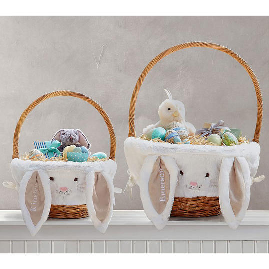 Personalized easter baskets ideas for all ages southern living bunny basket negle Choice Image