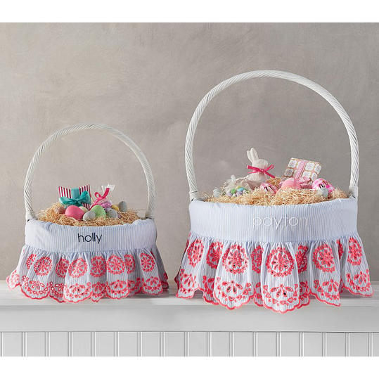 Preppy Eyelet Basket