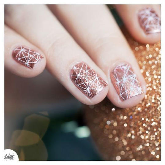 Rose Gold - 25 Valentine's Day Nail Designs You'll Love - Southern Living