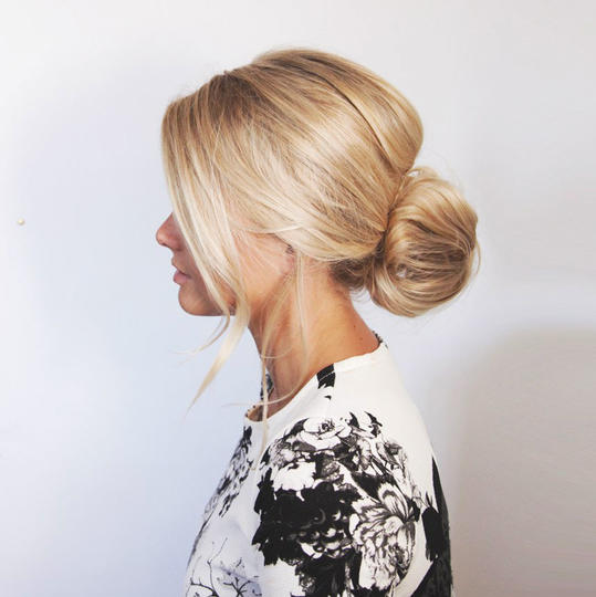 Voluminous Messy Bun