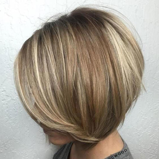 Bronde Stacked Bob