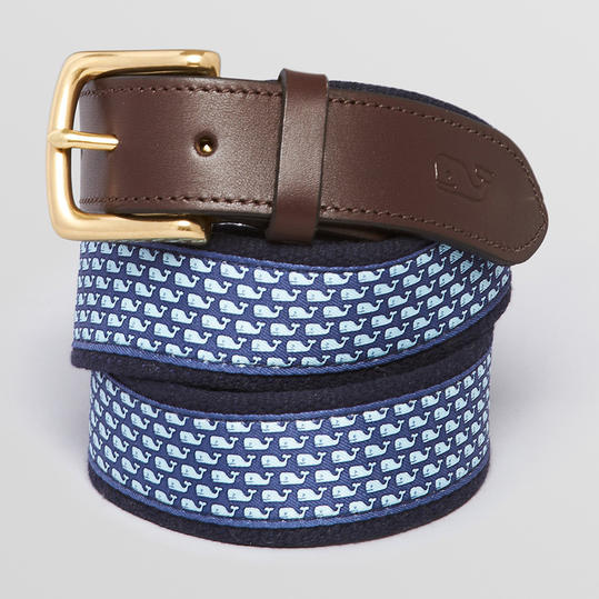 Patterned Canvas Belt