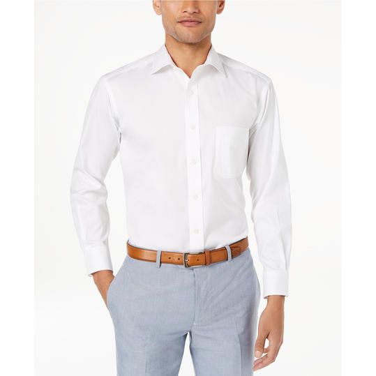 Solid Button Down