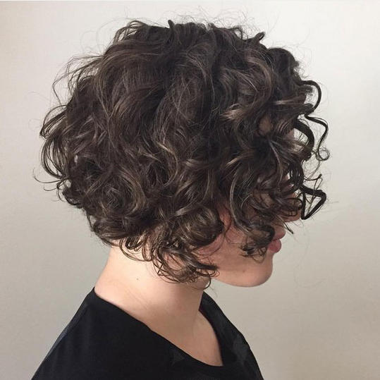Short Curly Hairstyles That Will Give Your Spirals New Life ...