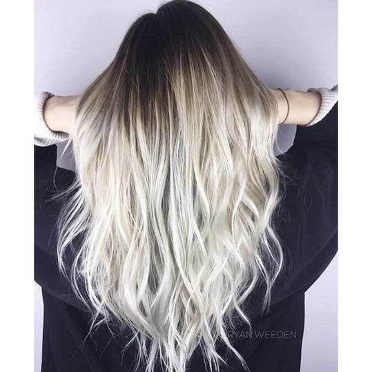 Frozen Blonde Ombré