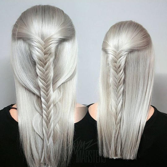 Pearly Frozen Blonde