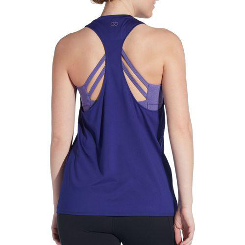 Double Layer Support Tank Top in Pigment Purple