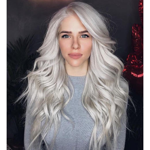 Smoky Frozen Blonde