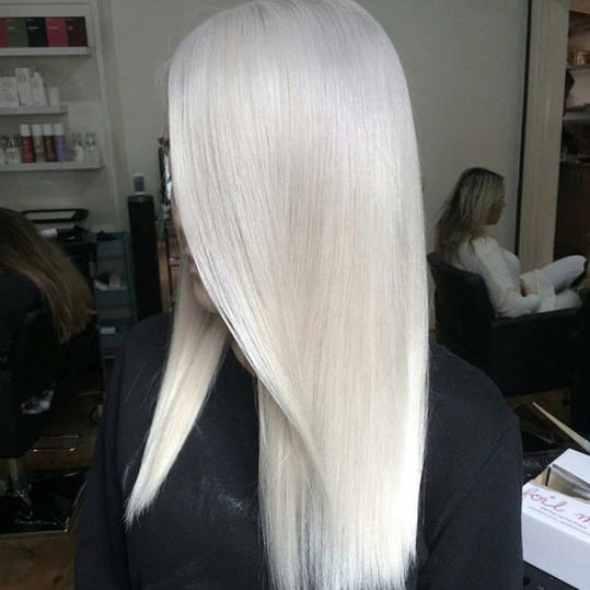 White Hot Frozen Blonde