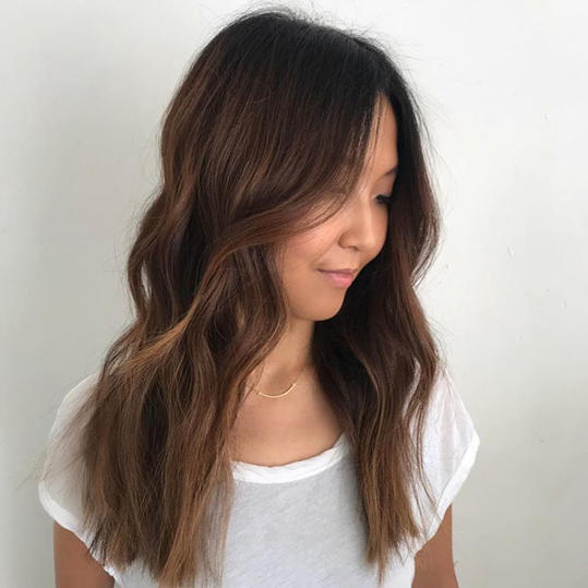 Cocoa Butter Might Be Hair Color Brunettes Have Been Craving All