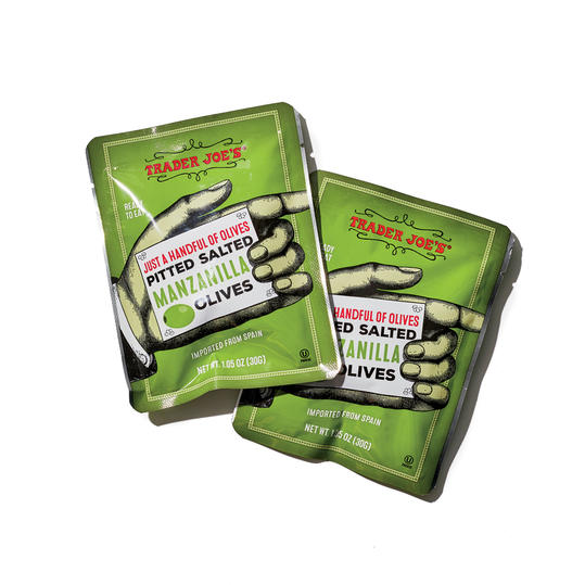 Trader Joe's Just a Handful of Olives