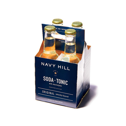 Navy Hill Soda + Tonic