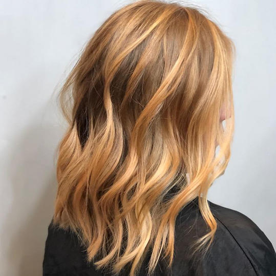 Transitional Strawberry Blonde