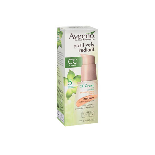 Aveeno Active Naturals Positively Radiant Tinted Moisturizer SPF 30