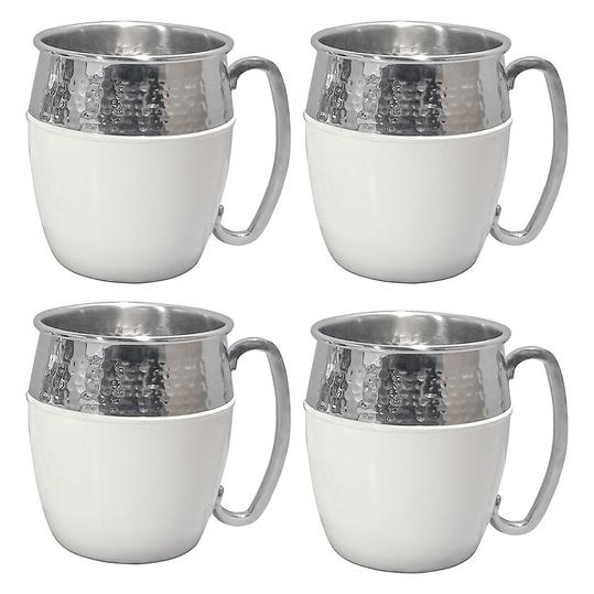 Hammered Mule Mugs