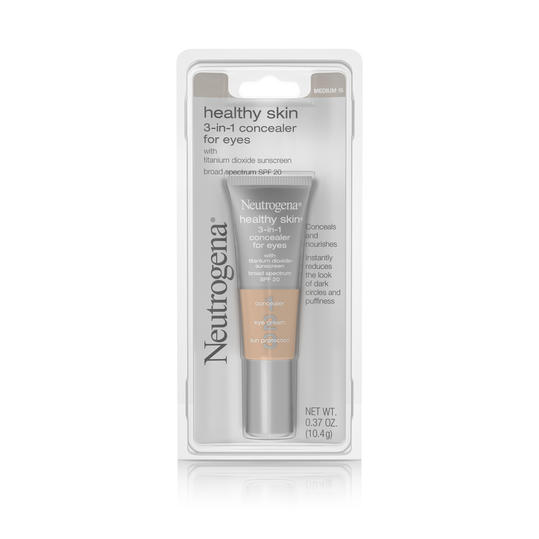 Neutrogena Healthy Skin 3-in-1 Concealer For Eyes Broad Spectrum SPF 20