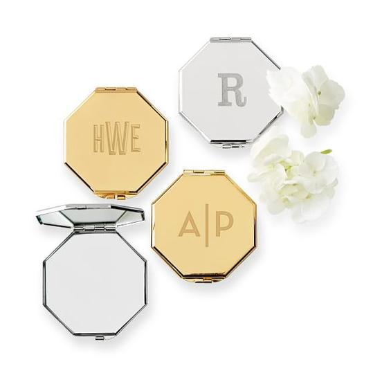 Monogrammed Beauty Compact