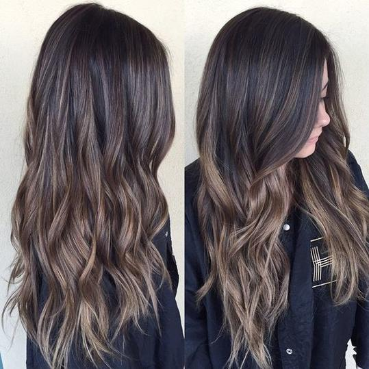 Dark ombre hair color think