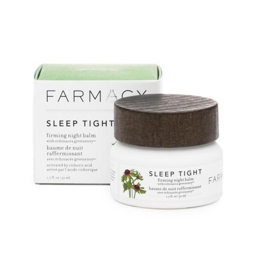 RX_1807 Sleeping Masks_Farmacy Sleep Tight Firming Night Balm with Echinacea GreenEnvy