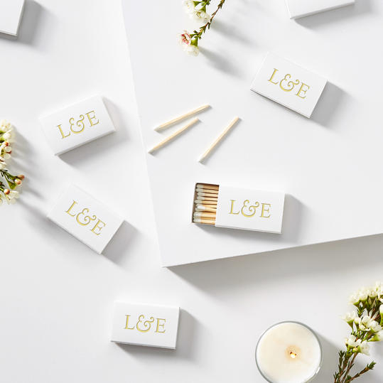 Guest Gifts: Personalized Matches