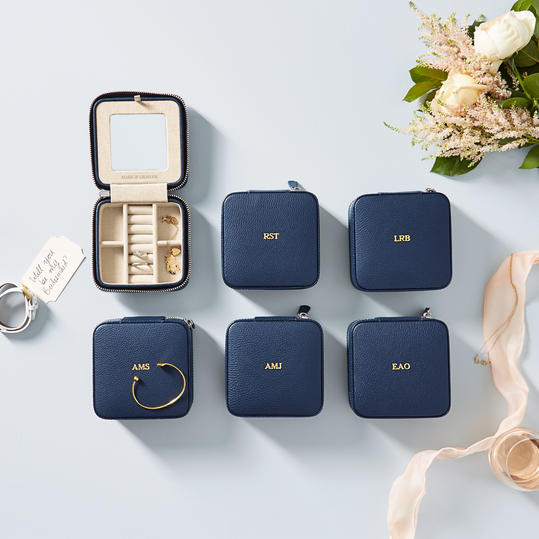 Monogrammed Travel Case Bridesmaid Gifts