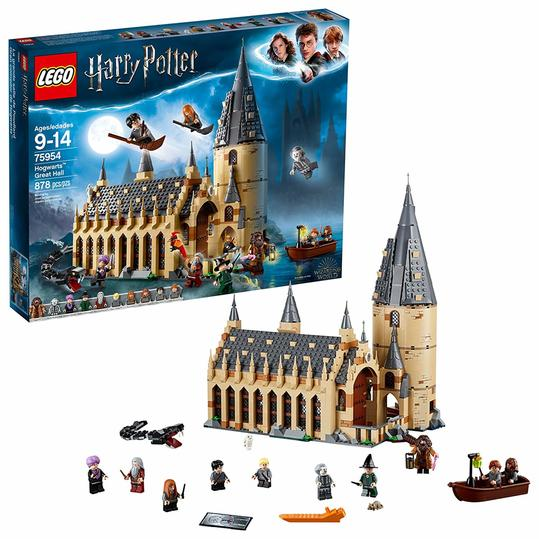 lego harry potter hogwarts great hall building kit - Amazon Christmas