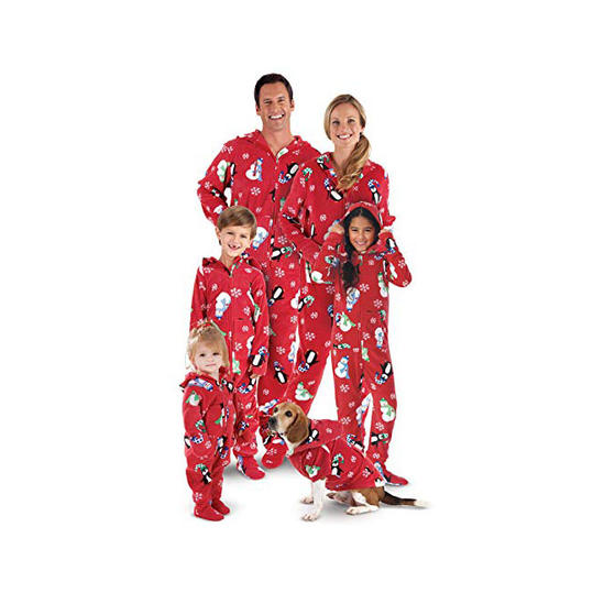 hoodie footies - Family Pajamas Christmas