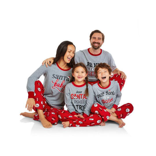 Funny Christmas Pjs.Matching Christmas Pajamas The Whole Family Will Love