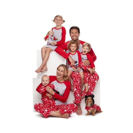 mickey and minnie mouse - Family Pajamas Christmas