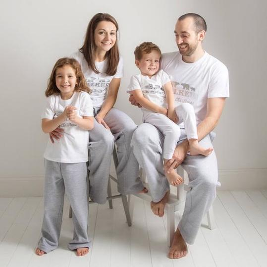 5d2f7f013 35 Matching Christmas Pajamas The Whole Family Will Love