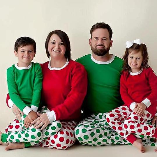 1a3a44dc4 35 Matching Christmas Pajamas The Whole Family Will Love
