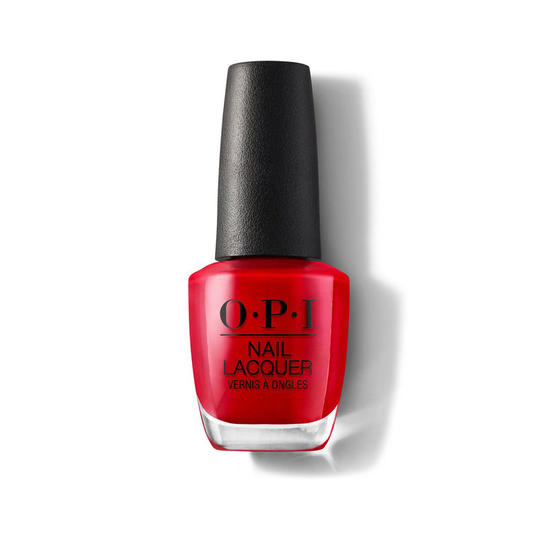 August: OPI Nail Lacquer in Big Apple Red