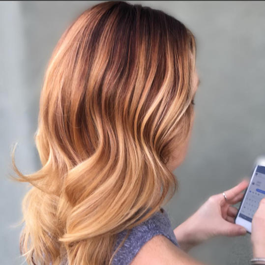 Ombre Strawberry Blonde