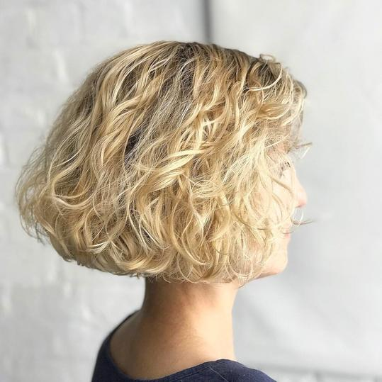 Haircuts For Thin Curly Hair Southern Living