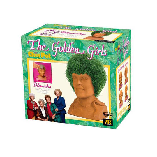 Chia Pet  Golden Girls  Collection