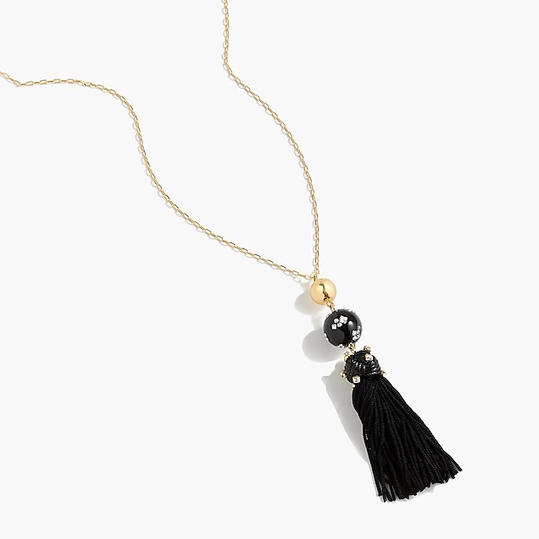 Tassel Lariat Necklace