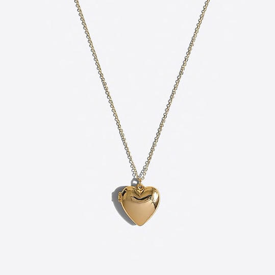 RX_1901 Valentine's Day Gifts for Kids_Gold Heart Locket