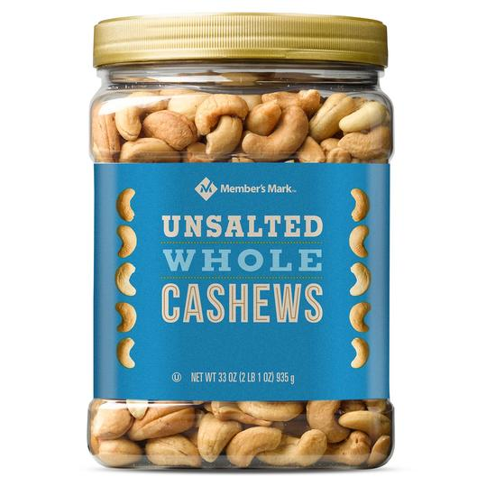 RX_1901_Member's Mark Unsalted Whole Cashews