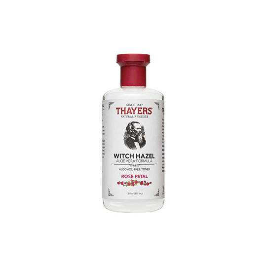Thayer's Alcohol-free Rose Petal Witch Hazel with Aloe Vera