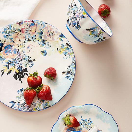 Country Floral Tableware