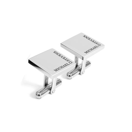 Personalized Square Cufflinks