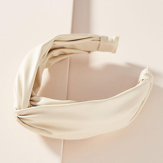 RX_1909_12 Ways to Wear White After Labor Day_Cassidy Twist Headband in Ivory