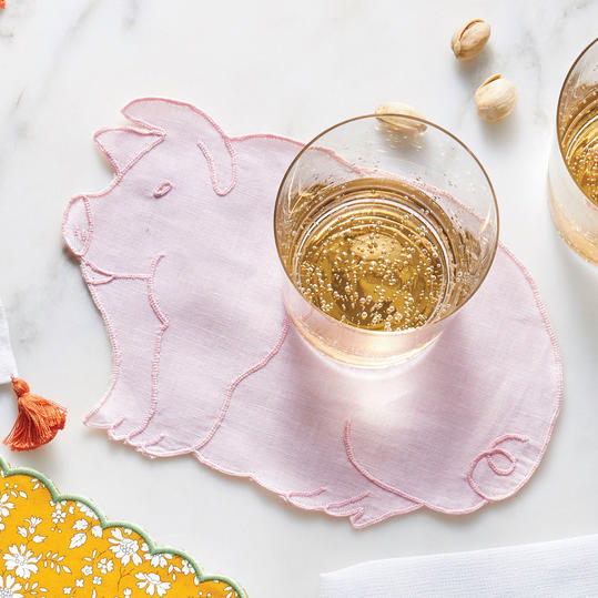 Biscuit Home's Piggy Cocktail Napkins
