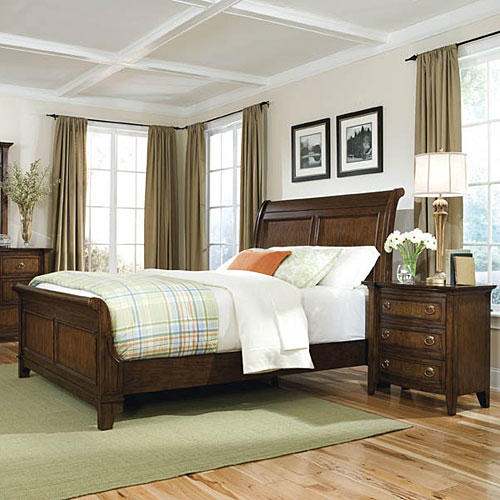 Queen bedroom furniture image11 Sleigh Furniture Collection Slideshow Image 11 1stopbedrooms Southern Living Furniture Collection Southern Living
