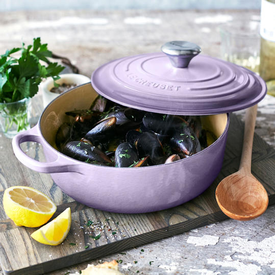 Le Creuset Round Wide Dutch Oven, in Provence