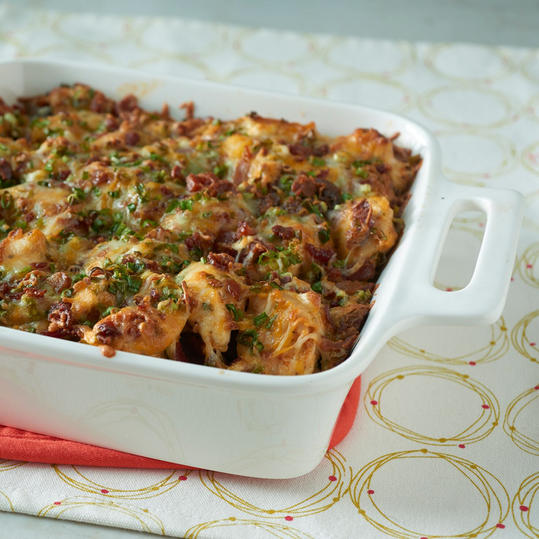 Loaded Baked Potato & Chicken Casserole