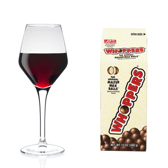 Whoppers + Pinot Noir