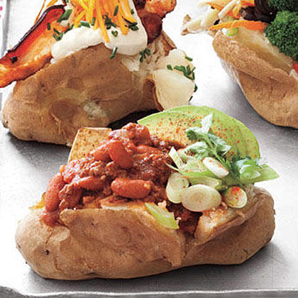 Tex-Mex Baked Potatoes