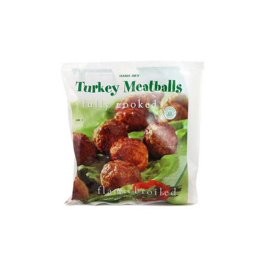 Trader Joe's Frozen Turkey Meatballs
